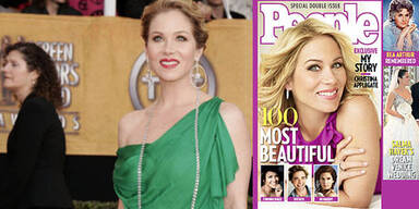Christina Applegate: People's schönste Frau der Welt