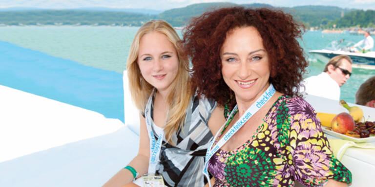 Christina Mausi Lugner Tochter Jacqueline