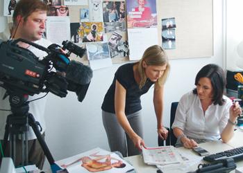Christine Grabner und Nina Horowitz Am Schauplatz ORF 2