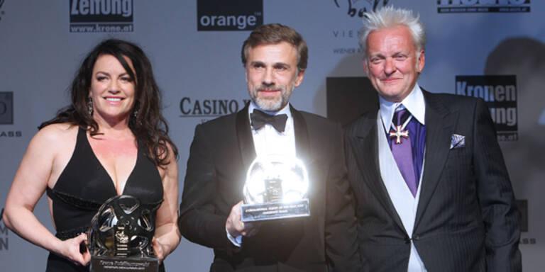 Christoph Waltz, Christine Neubauer und Peter Wolf