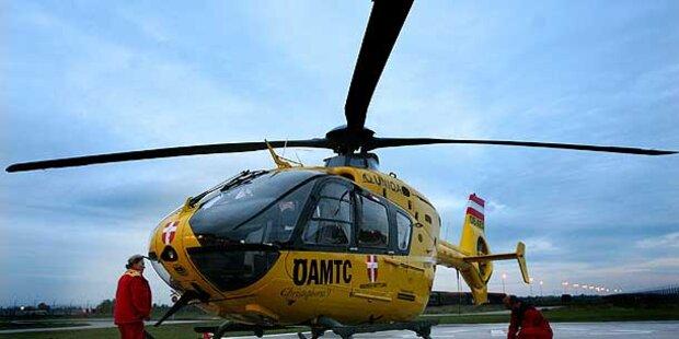 Crash auf A3 - Vier Schwerverletzte