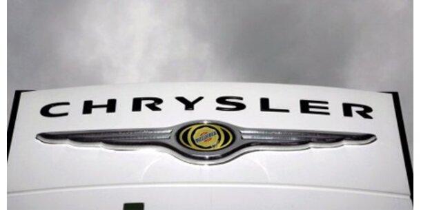Bei Chrysler stehen Bänder still