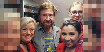 Geniale Werbung: So lacht Austrian Airlines über Chuck Norris
