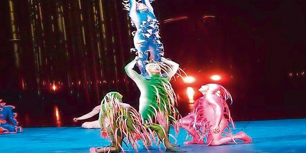 So läuft die neue »Cirque«-Show