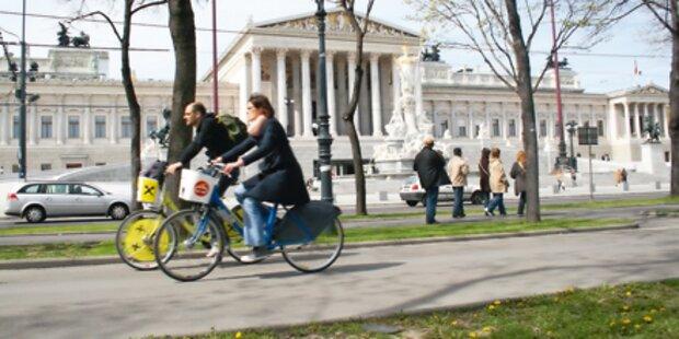 Die Top fünf der neuen Radfahrwege