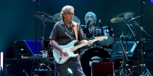 Clapton bringt vor Wien-Gig Album heraus