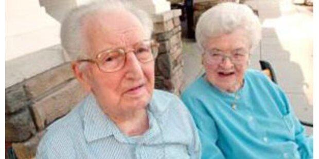 US-Ehepaar feierte 83. Hochzeitstag