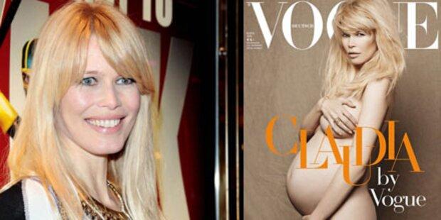 Schwangere Schiffer nackt auf Vogue