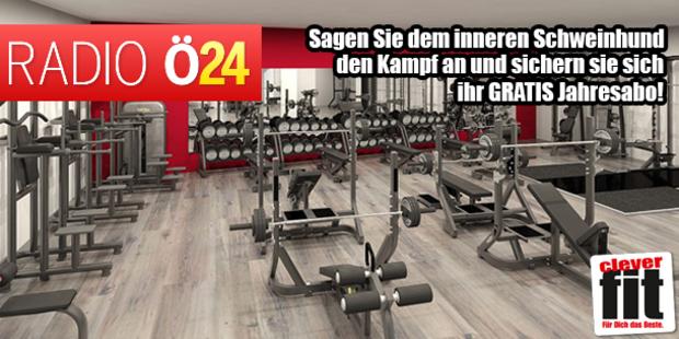 Eine Jahresmitgliedschaft bei clever fit Wien Döbling!