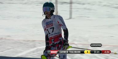 Carmen Thalmann in Bestform