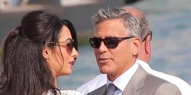 Clooney-Hochzeit: Wo waren Brad & Angie?
