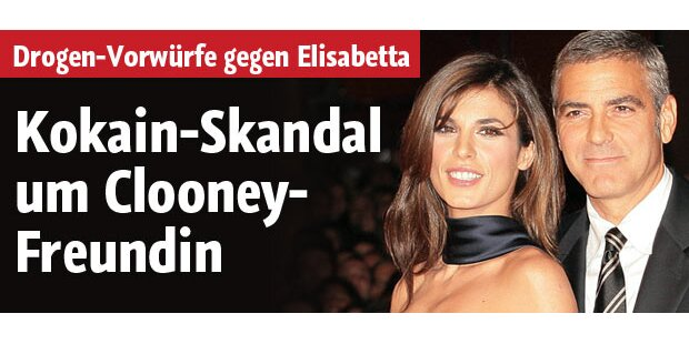 Kokain-Skandal um Clooney-Freundin