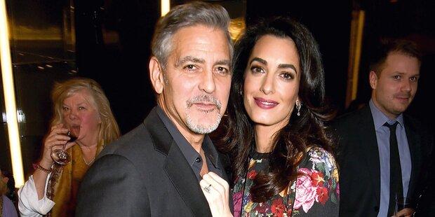 Clooney erklärt die Namen seiner Twins