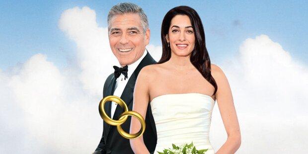 Clooney: So wird die Hochzeit