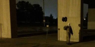 Gruseliger Clown macht US-Stadt unsicher