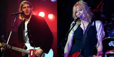 Kurt Cobain und Courtney Love