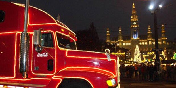 Weihnachtstruck-Finale in Wien