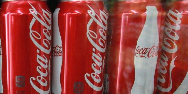 Pinkel-Skandal um Coca-Cola-Dosen