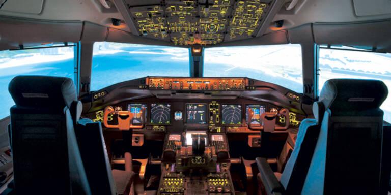 Co-Pilot stirbt während des Landeanflugs