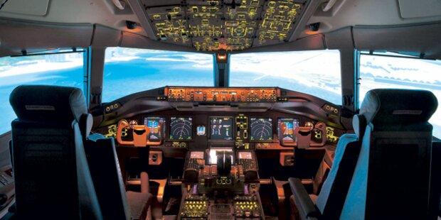 Notlandung von türkischem Flugzeug