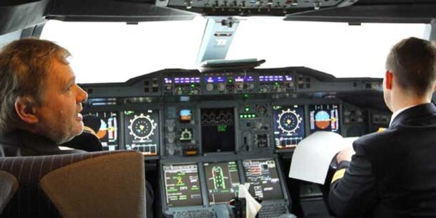 Russischer Pilot stirbt im Cockpit