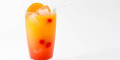 Leckerer Cocktail mit Batida de Coco