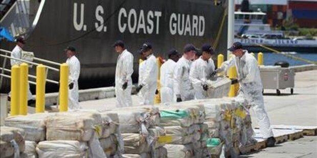 7,5 Tonnen Kokain von Uboot geborgen