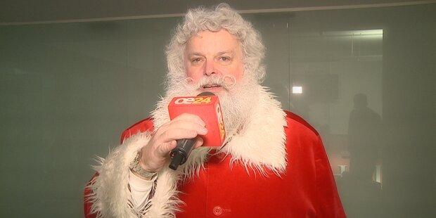 Weihnachtsmann besucht Österreich