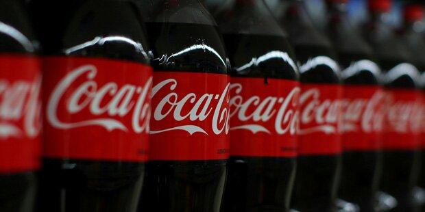 Coca-Cola verliert Platz 1 - an Wasser