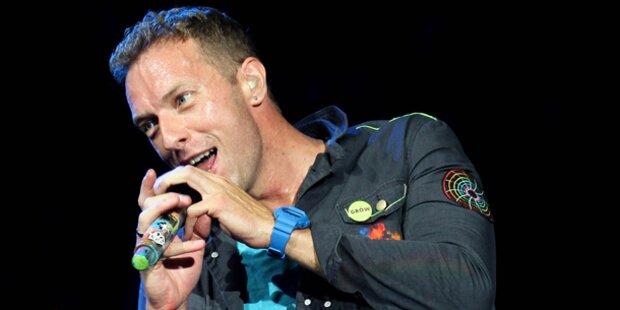 Coldplay hat sich im Ton vergriffen