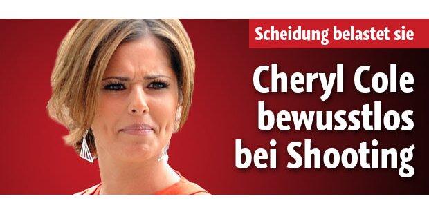 Cheryl Cole: Zusammenbruch bei Shooting