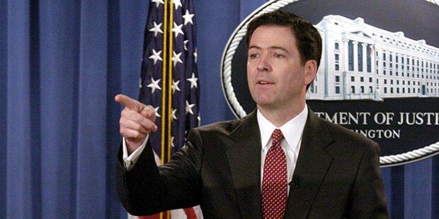 Stürzt Trump über Ex-FBI-Chef?
