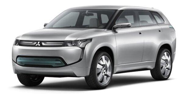 Mitsubishi PX-MiEV Crossover Concept