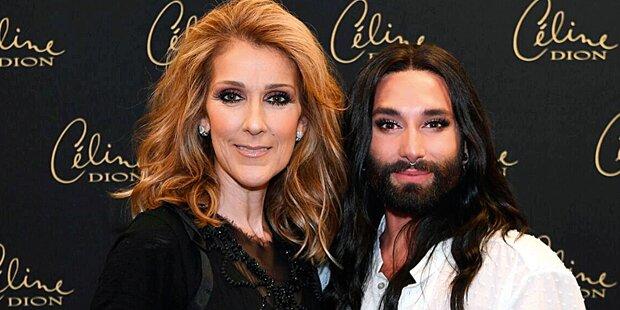 Dion schwärmt von Conchita und neuer Liebe