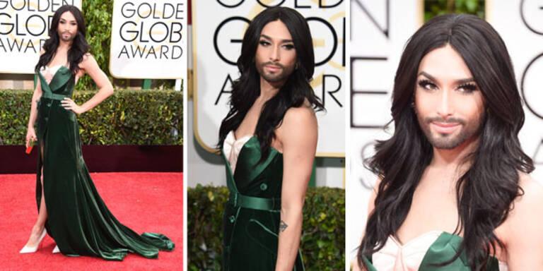 Conchitas Look für die Golden Globes