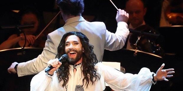 Conchita verzaubert mit Klassik-Show