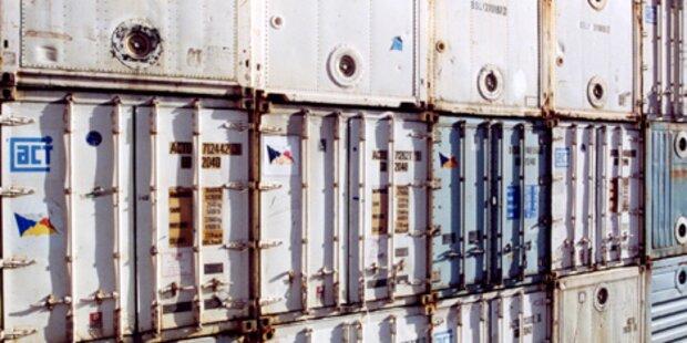 Radioaktiv belastete Container in Belgien