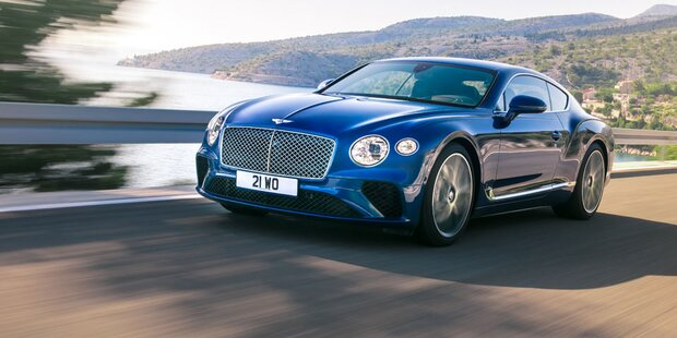 Das ist der neue Bentley Continental GT