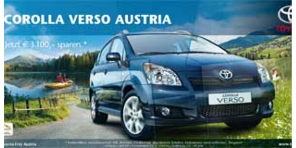 PKP proximity inszeniert den Toyota Corolla Verso