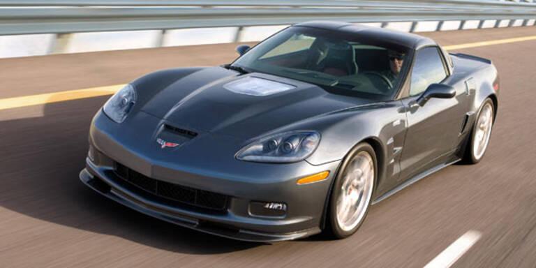 Neue Corvette C7 bekommt Super-Motor