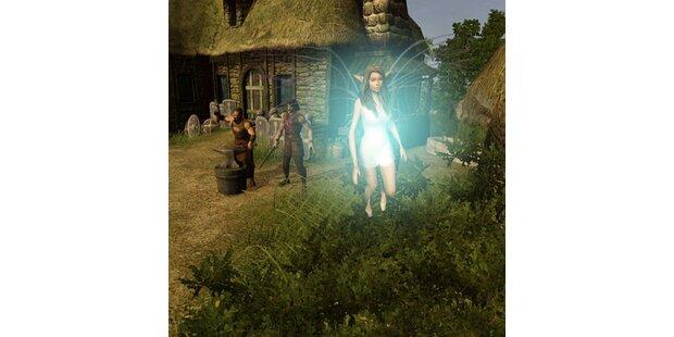 Cosma Shiva Hagen tritt in Computerspiel auf