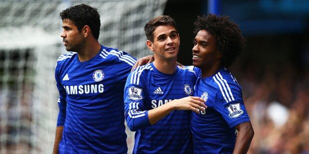 Chelsea-Prominenz erweist Rapid die Ehre