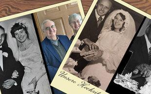 Diese Paare beweisen: : Wahre Liebe hält eine Ewigkeit!