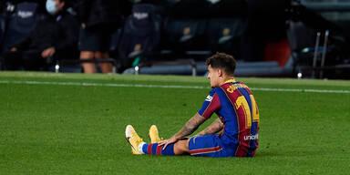 Barcas Coutinho fällt drei Monate aus