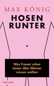 Buchcover Hosen runter Max König
