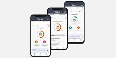 Neue App zeigt persönliches Corona-Risiko