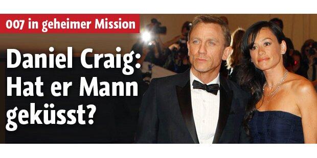 Kuss: Daniel Craig mit Mann erwischt