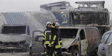 8 Tote nach Sandsturm in Deutschland