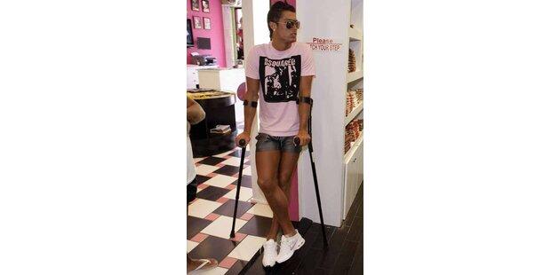 Peinlich? Cristiano Ronaldo als rosa Modepuppe
