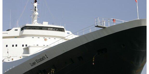 Hunderte auf Kreuzfahrtschiff erkrankt